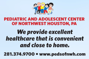 Advertisement for  Pediatric and Adolescent Center of Northwest Houston