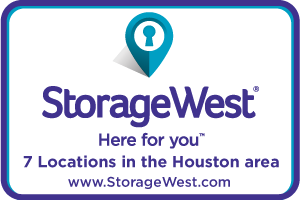 Advertisement for Storage West - All of  Houston